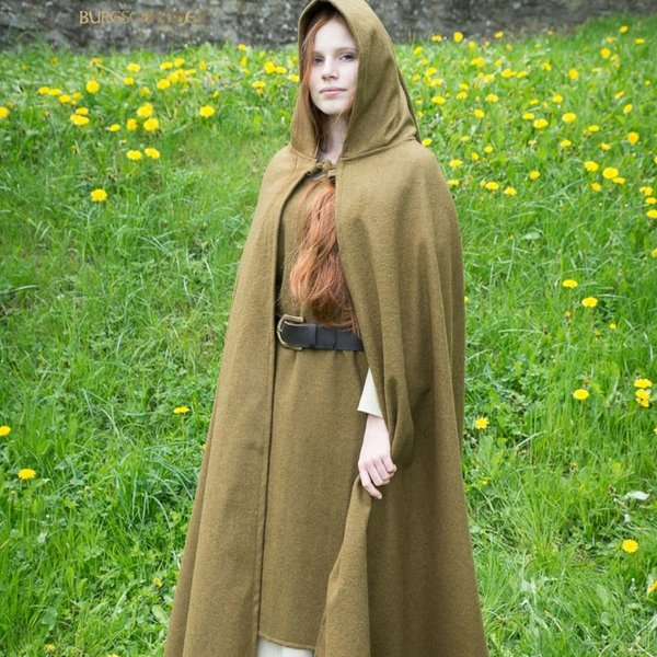Burgschneider Mantel Hibernus, herfstgroen