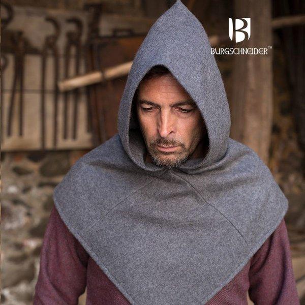 Burgschneider Chaperon Skjoldehamm, wool, grey