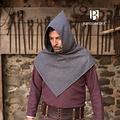 Burgschneider Kaproen Skjoldehamm, wol, grijs