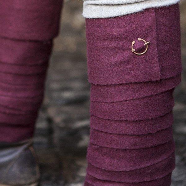 Burgschneider Leg wrappings Aki, red