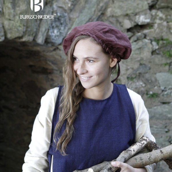 Burgschneider Czepek Anna brązowy