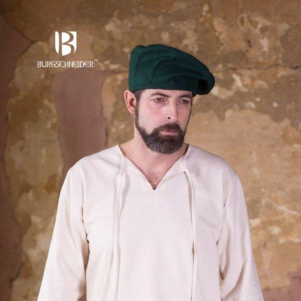 Burgschneider Baret Harald uld, grøn