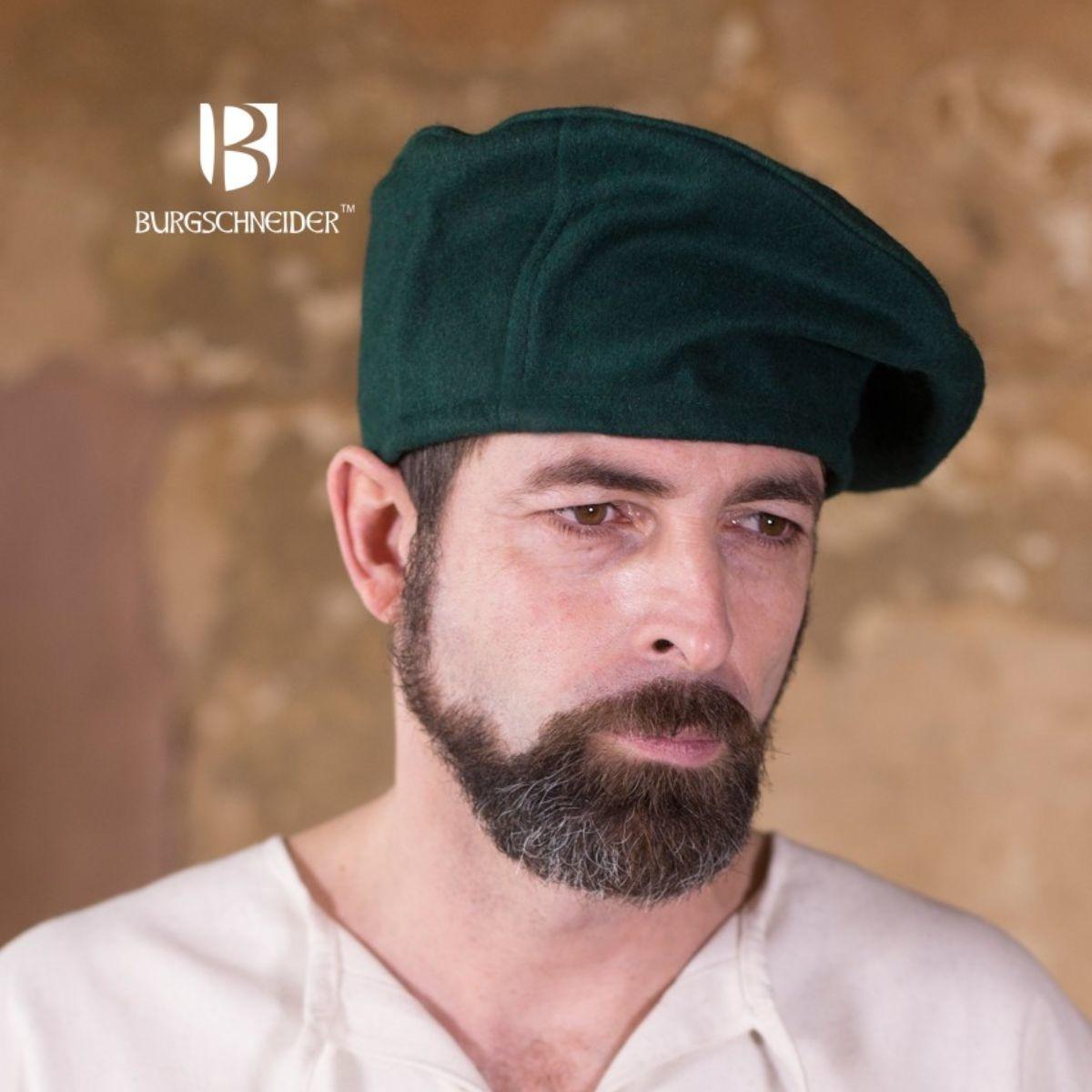Beret Harald wool, green