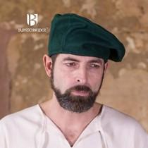 Burgschneider Beret Harald wool, green