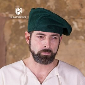 Burgschneider Basker Harald ull, grön