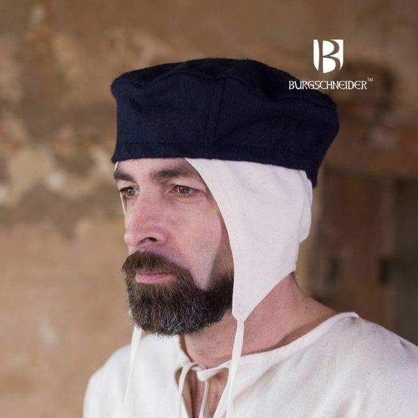 Burgschneider Wool hat Hugo, blue