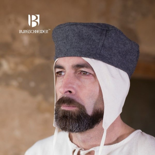 Burgschneider Wełniany kapelusz Hugo, szary