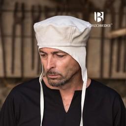 Wełniany kapelusz Hugo, naturalne