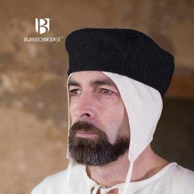 Burgschneider Wełniany kapelusz Hugo, czarny