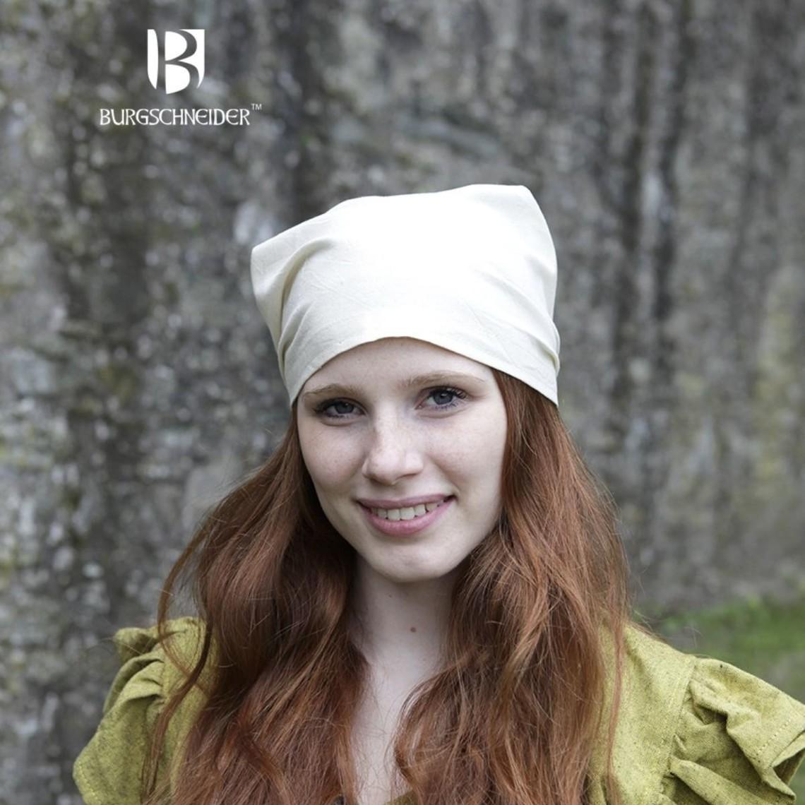 Burgschneider Viking Kopftuch Marianne naturfarben