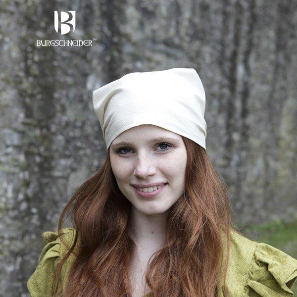 Burgschneider Viking headkerchief Marianne natural coloured