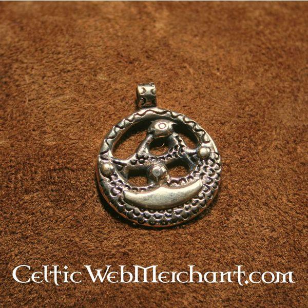 Upplandia Viking amulet brąz