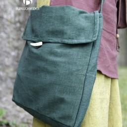 Mittelalterliche Tasche Ehwaz, grün