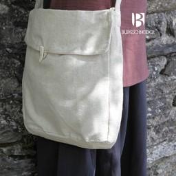 Medieval bag Ehwaz, natural