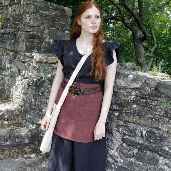 Burgschneider Mittelalterliche Tasche Ehwaz, natürliche
