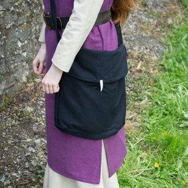 Burgschneider Middeleeuwse tas Ehwaz, zwart