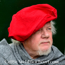 Beret Rembrandt, red
