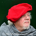Leonardo Carbone Baret Rembrandt, rood