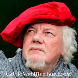 Baret Rembrandt, rood