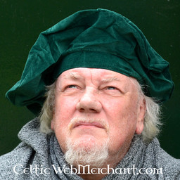 Béret Rembrandt, vert