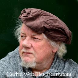Beret Rembrandt, brązowy