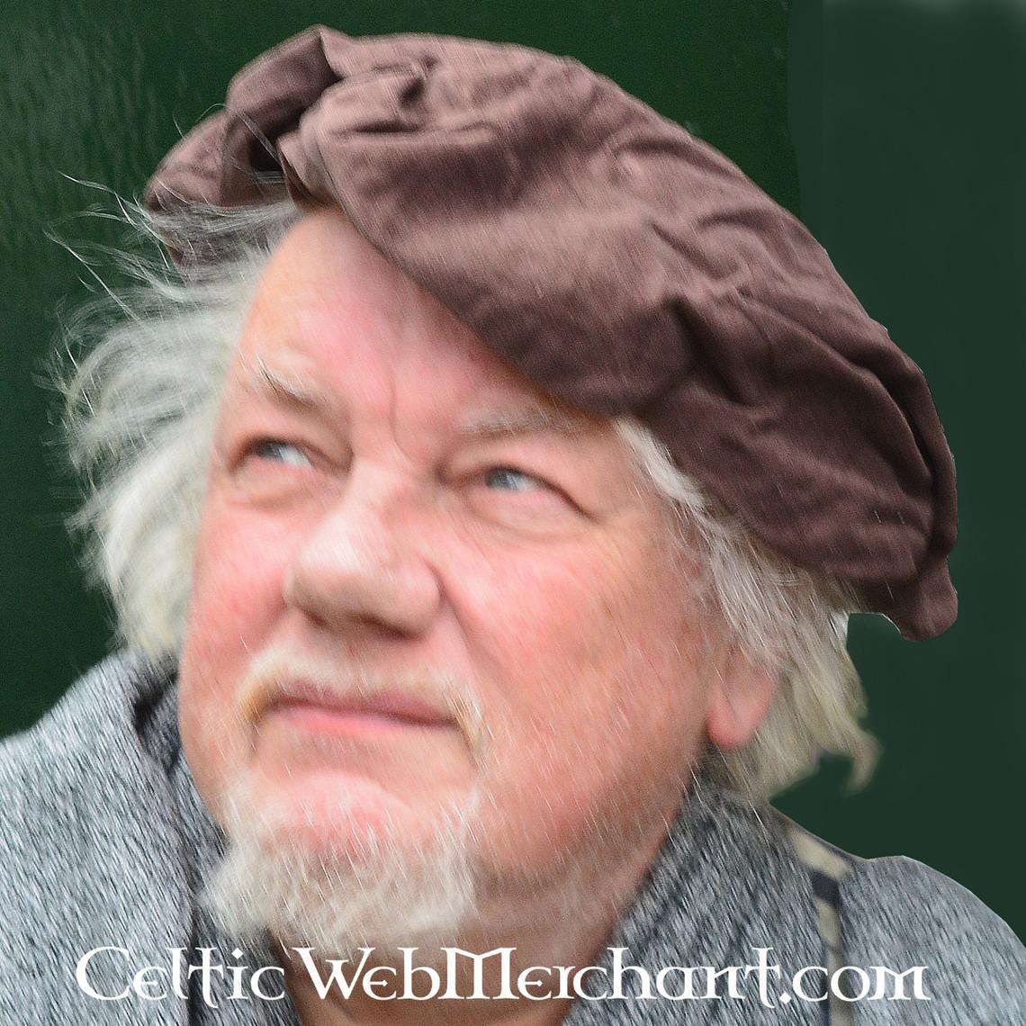 Leonardo Carbone Beret Rembrandt, brązowy