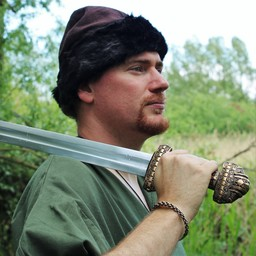 Birka Viking hat, brown