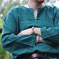 Leonardo Carbone Tunique historique avec doublure authentique, vert