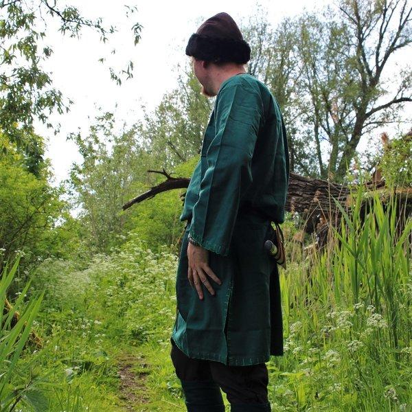 Leonardo Carbone Historisk tunika med autentisk beklædning, grøn