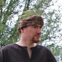 Birka Vikingmuts, groen