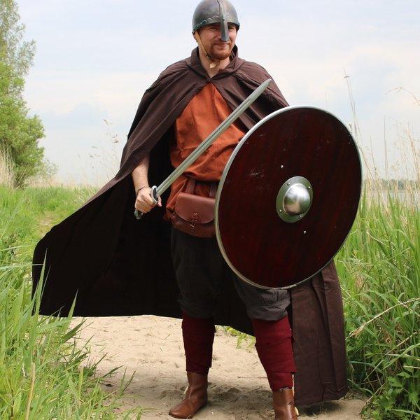 Leonardo Carbone Pantalon Viking Dublin, marron