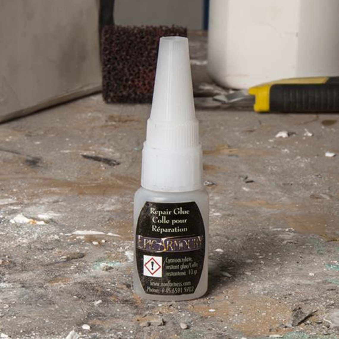 Epic Armoury Cola de reparación de látex LARP