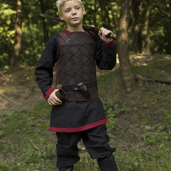 Epic Armoury RFB Leder Wikinger Rüstung, braun