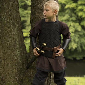Epic Armoury RFB Armadura vikinga de cuero, negro