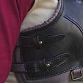 Epic Armoury Damespantser Roque, zwart/bruin