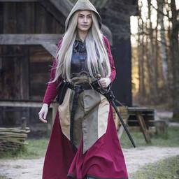 Weibliche Rüstung Rogue, schwarz / braun