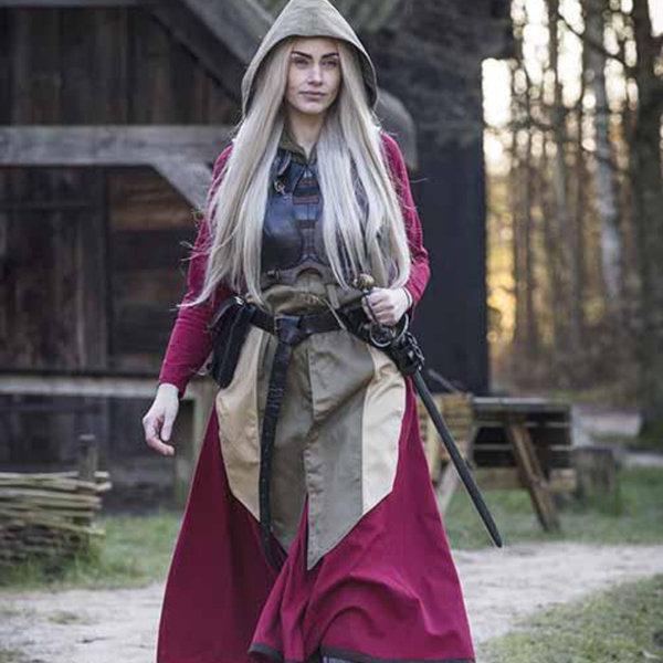 Epic Armoury Weibliche Rüstung Rogue, schwarz / braun