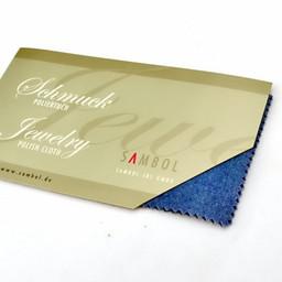 Polishing cloth for jewelry