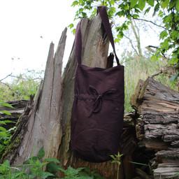 Textilumhängetasche, braun