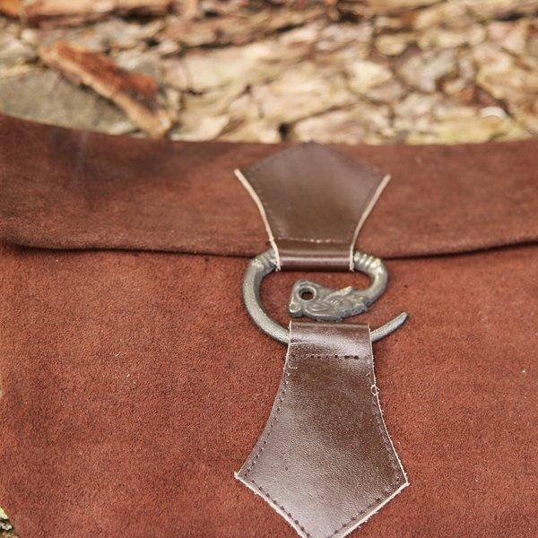 Leonardo Carbone Bæltetaske drage, brun
