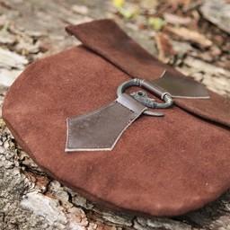 Bolso cinturón dragón, marrón