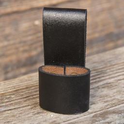 Riemhouder voor 1 LARP werpmes, zwart