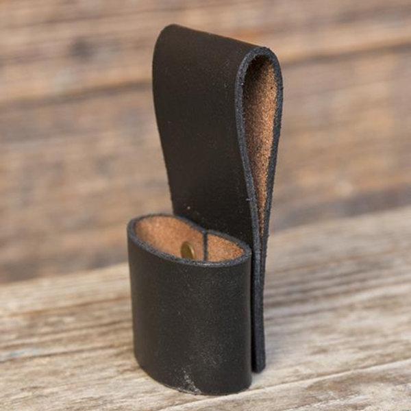 Epic Armoury Cinturón para 1 cuchillo de lanzamiento LARP, negro