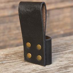 Belt holder for 1 LARP throwing knife, black
