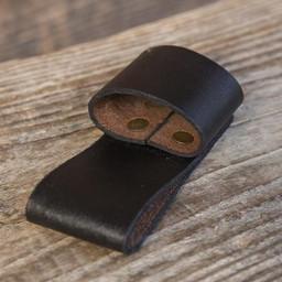 Gürtelhalter für 1 LARP Wurfmesser, schwarz