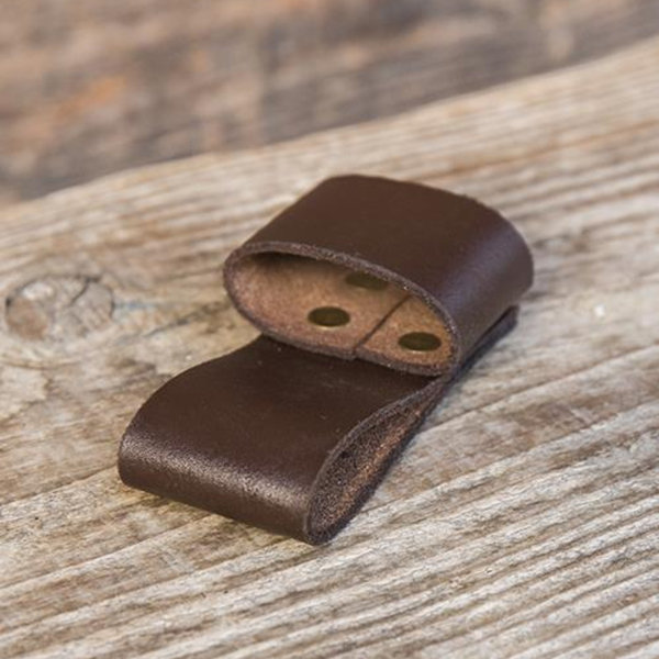 Epic Armoury Belt holder for 1 LARP throwing knife, brown