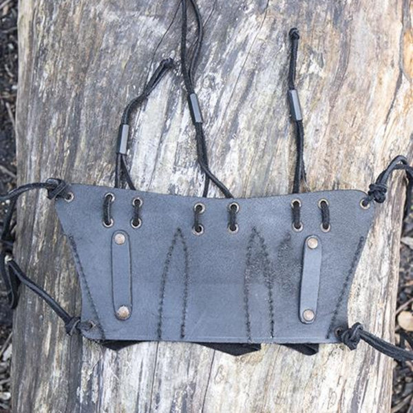 Epic Armoury Belt holder for 3 LARP throwing knives, black