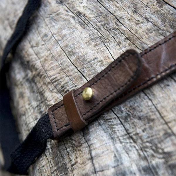 Epic Armoury Porte épée RFB Double LARP, brun-noir