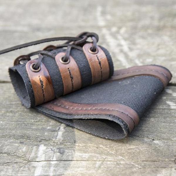 Epic Armoury RFB LARP dolk-svärdshållare, svartbrun