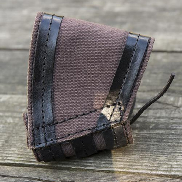 Epic Armoury RFB LARP dolk-svärdshållare, brun-svart
